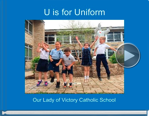 Book titled 'U is for Uniform'