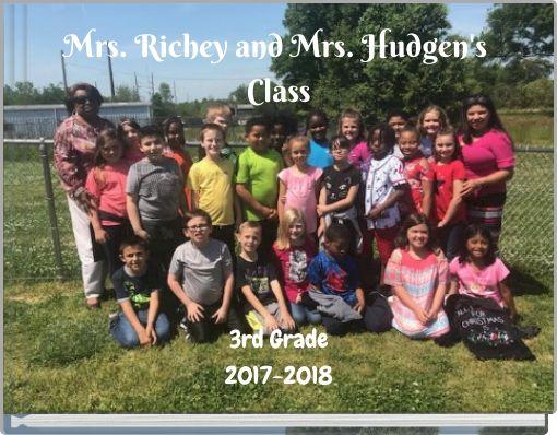 Mrs. Richey and Mrs. Hudgen's Class