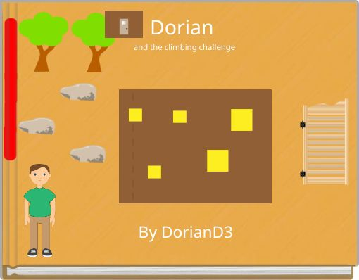 Dorian and the climbing challenge