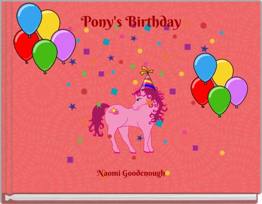 Pony's Birthday