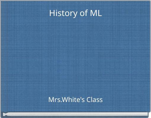History of ML