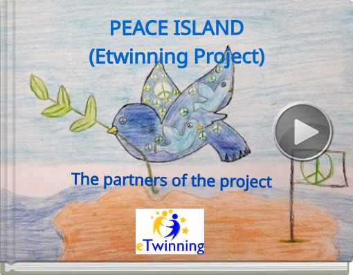 Book titled 'PEACE ISLAND(Etwinning Project)'