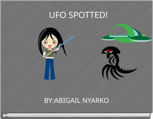 UFO SPOTTED!