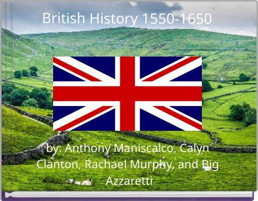 British History 1550-1650
