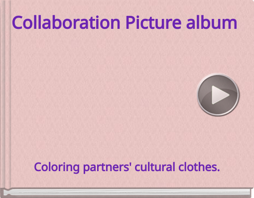 Book titled 'Collaboration Picture album'