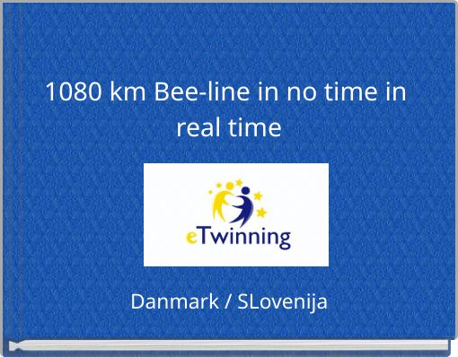 1080 km Bee-line in no time in real time