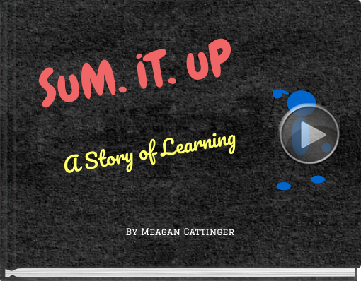 Book titled 'SuM. iT. uPA Story of Learning'