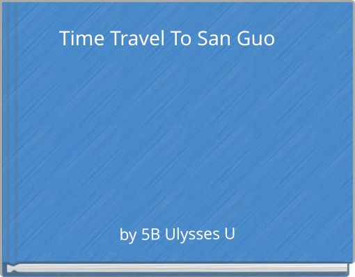 Time Travel To San Guo