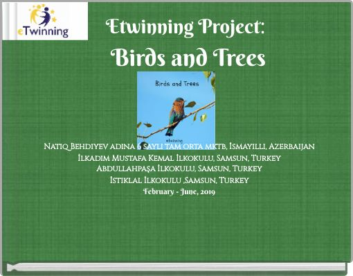 Etwinning Project: Birds and Trees