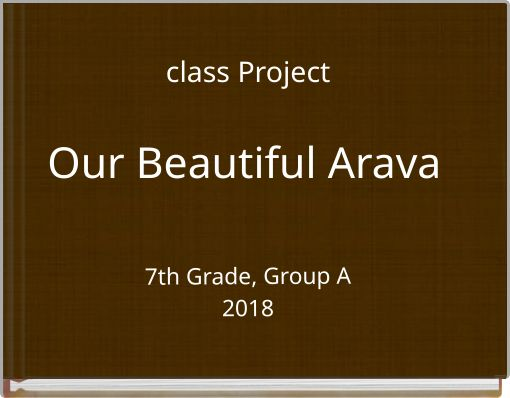 class ProjectOur Beautiful Arava