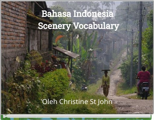 Bahasa Indonesia Scenery Vocabulary