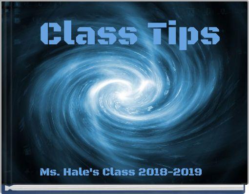 Class Tips
