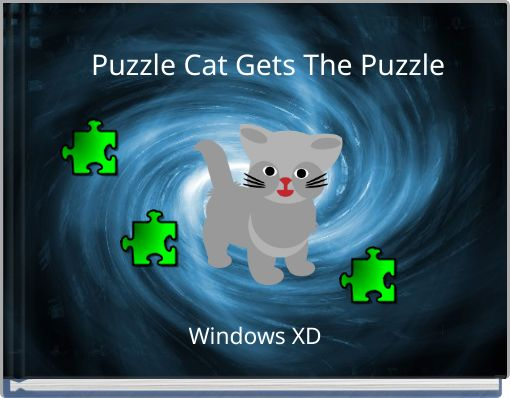 Puzzle Cat Gets The Puzzle