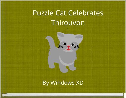 Puzzle Cat CelebratesThirouvon\