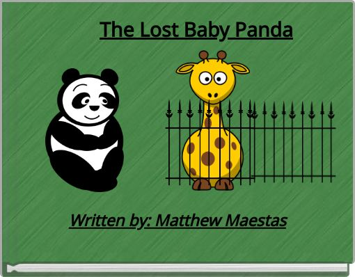 The Lost Baby Panda