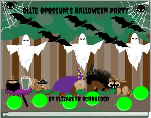 Ollie Opossum's Halloween Party