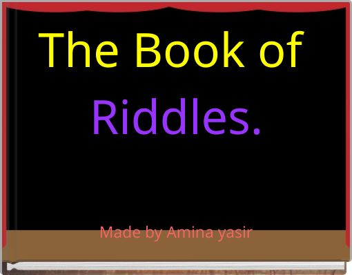 The Book of Riddles.