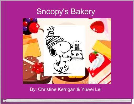 Snoopy's Bakery