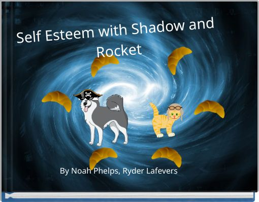 Self Esteem with Shadow and Rocket