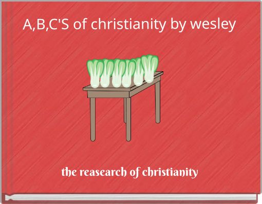A,B,C'S of christianity by wesley