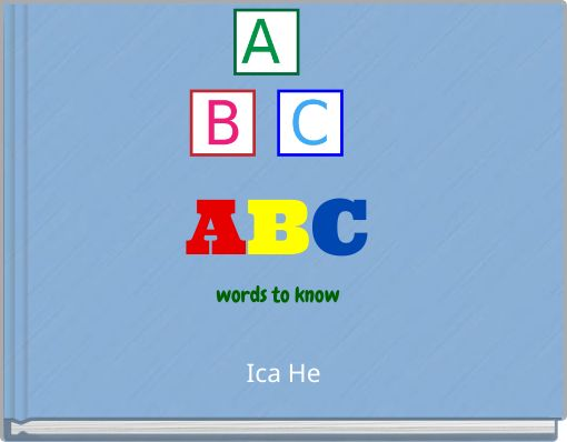 ABCwords to know