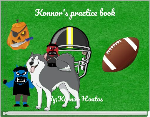 Konnor's practice book