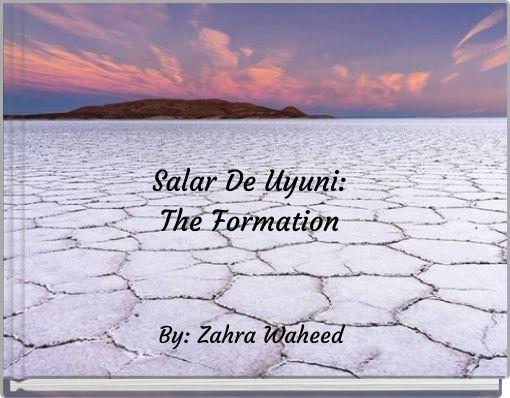 Salar De Uyuni: The Formation