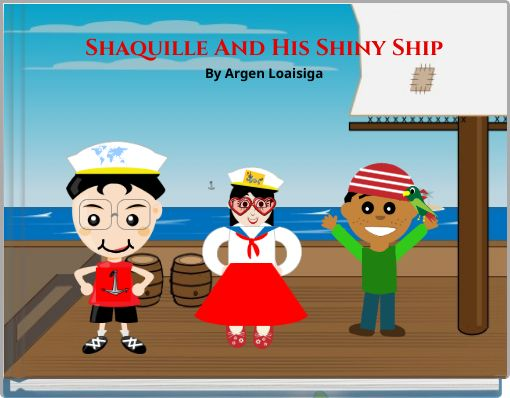 Shaquille And His Shiny Ship A storybook to teach diagraphs