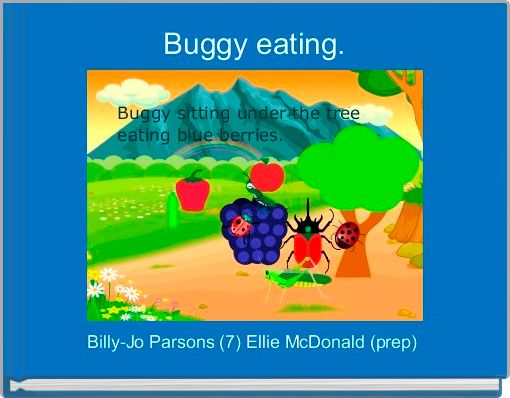 Buggy eating.