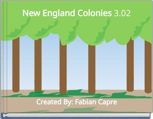 New England Colonies 3.02