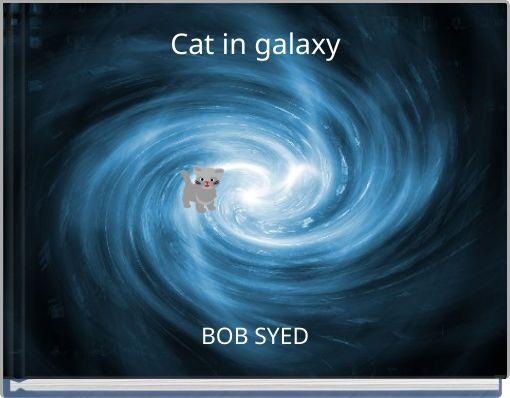 Cat in galaxy