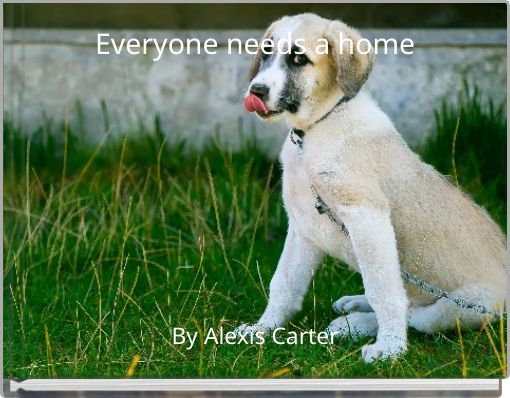 Everyone needs a home