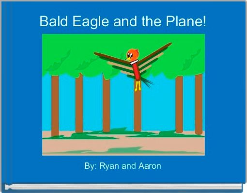 Bald Eagle and the Plane!