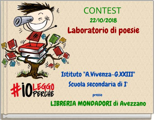 CONTEST 22/10/2018Laboratorio di poesie