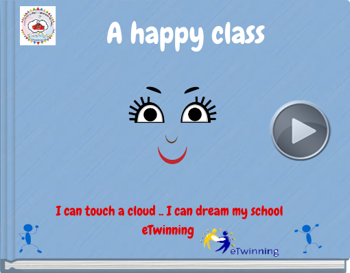 Book titled 'A happy class'