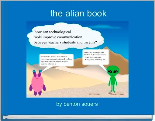 the alian book