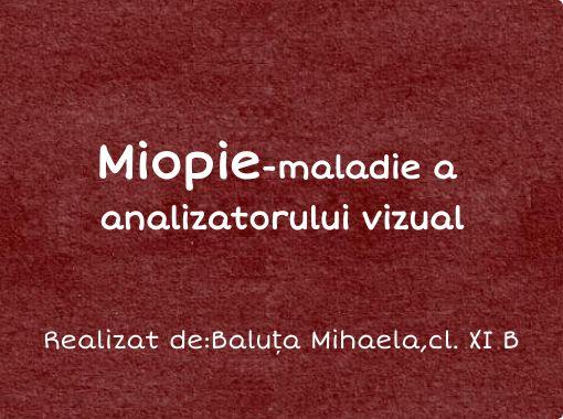 miopie minus 8)