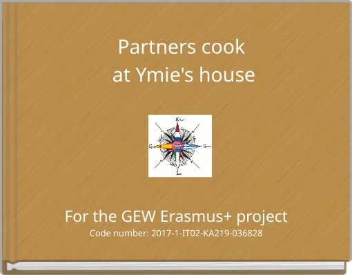 Partners cook at Ymie's house