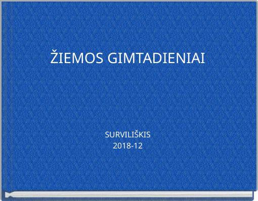 ŽIEMOS GIMTADIENIAISURVILIŠKIS2018-12