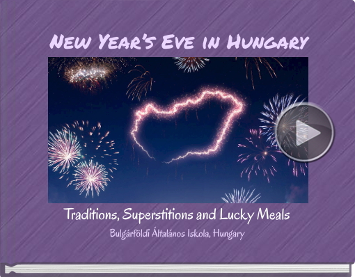 Book titled 'New Year's Eve in Hungary'