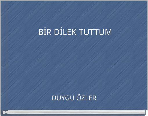 BİR DİLEK TUTTUM