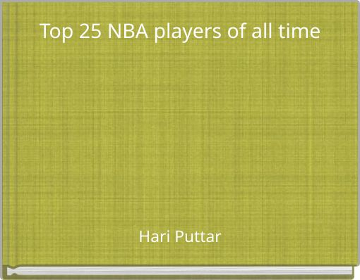 Top 25 NBA players of all time