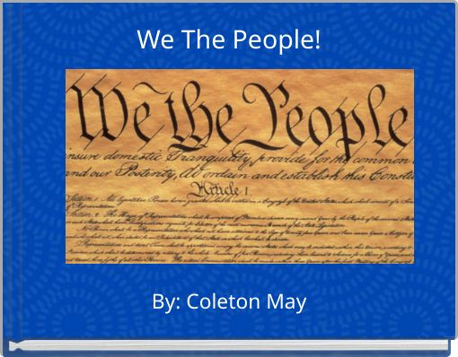 We The People!
