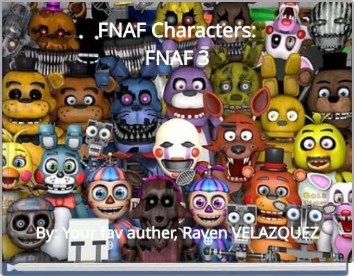 FNAF Characters:FNAF 3