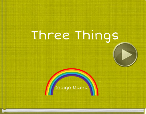 Book titled 'Three Things'