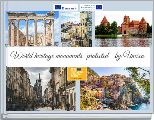 World heritage monuments protected by Unesco