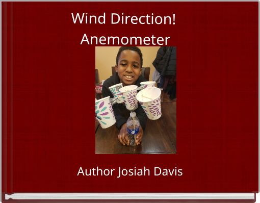 Wind Direction! Anemometer