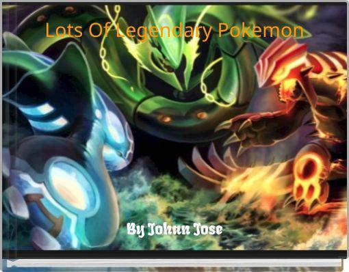 Lots Of Legendary Pokemon
