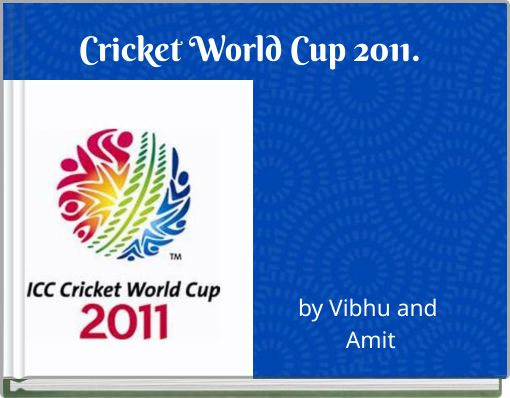 Cricket World Cup 2011.