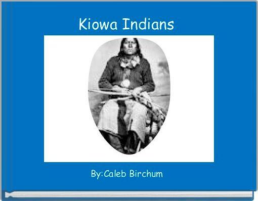 Kiowa Indians